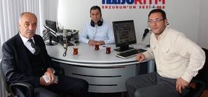 ETSO Başkanı Yücelik, Radyo Ritm'in konuğu oldu