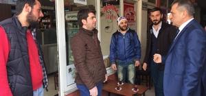 Başkan Sağıroğlu, referandum çalışmalarını sürdürüyor
