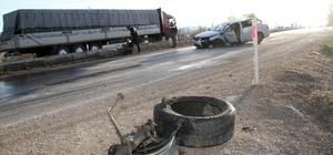 Sivas'ta trafik kazası: 5 yaralı