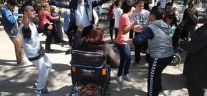 Gaziemir'de engelli vatandaşlar piknikte buluştu