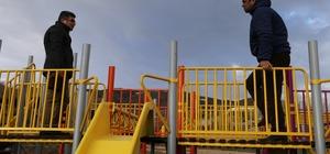 Varto'da park yapımı