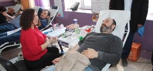 Domaniç'te kan bağışı kampanyası