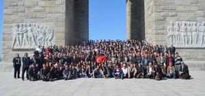Beylikova Belediyesi 380 kişinin katılımı ile Çanakkale gezisi düzenledi
