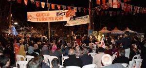 Gümrük ve Ticaret Bakanı Bülent Tüfenkci, Konaklılarla bir araya geldi