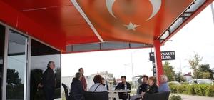 Başkan Genç, esnafa yatırımları anlattı