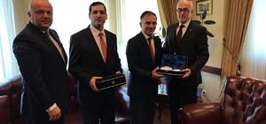 Azerbaycan ile kardeş oda protokolü imzalandı