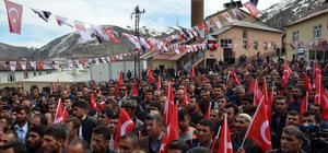 """Bitlis'te """"Teröre Hayır, Huzura Evet"""" mitingi"""