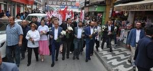 AK Parti'den Söke'de 'Türkiye İçin Evet' yürüyüşü