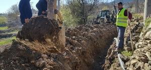 Keles köylerinde içme suyu şebekeleri yenileniyor