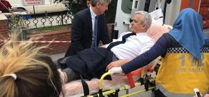 Eski belediye başkanına silahlı saldırı