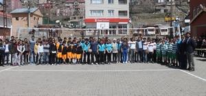 Beytüşşebap'ta okullar arası voleybol turnuvası düzenlendi