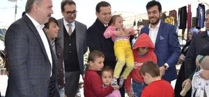 AK Parti Trabzon Milletvekilleri Balta ve Cora referandum çalışmalarını sürdürüyor