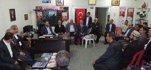 Cumhurbaşkanı Başdanışmanı Emin Önen'in referandum çalışmaları