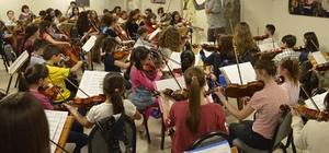 Çocuk Senfoni Orkestrası yeni konserine hazırlanıyor