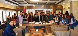 Rektör Gül, Silopili gençleri makamında ağırladı