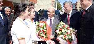 """Başkan Akyürek: """"Hep birlikte büyük Türkiye için çalışıyoruz"""""""