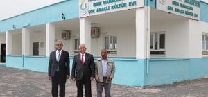 Başkan Demirkol ile Vali Tuna kültür evini ziyaret etti