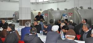 Damızlık Birliğinden Süt Soğutma Tankları Tanıtımı Ve İstişare toplantısı