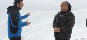 Rektör Polat, Kurtik Dağı'nda incelemelerde bulundu