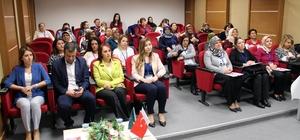 60 kadın sağlık çalışanına 'gebelik' öncesi ve sonrası eğitimi verildi