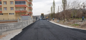 Battalgazi'de asfaltlama çalışması devam ediyor