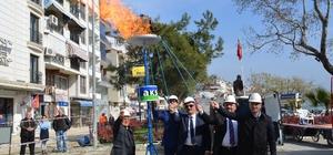 Kumla'nın doğalgaz hasreti sona erdi