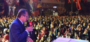 Büyükşehir'den Gönen'e 3 yılda 75 milyon liralık yatırım