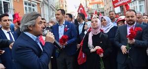 """Başkan Demircan: """"17 Nisan sabahı Türkiye yeni umuduna gözlerini açmış olacak"""""""