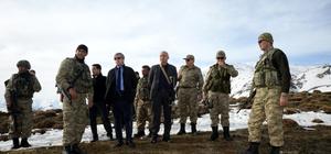 Vali Çınar, operasyon bölgesini inceledi