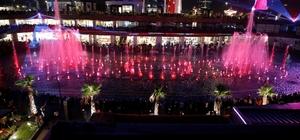 Ataşehir'de müzik ve ışık gösterisi