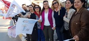 Fatma Kaplan Hürriyet, referandum turlarına devam ediyor