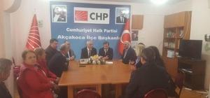 Başkan Yemenici CHP'yi ziyaret etti