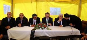 Yeşiloba köyünde tapu dağıtım töreni yapıldı