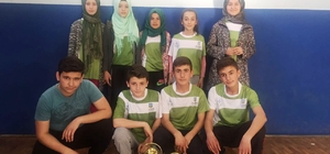 Dursunbey İmam Hatip Ortaokulu'nda sportif şahlanış