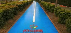Ataşehir'de yollar renklendi