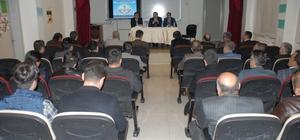 Tuşba'da ortaokul müdürleriyle istişare toplantı