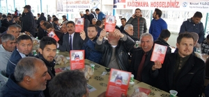 Bakan Arslan, Kağızman 'da binlerce kişi ile yemekte buluştu
