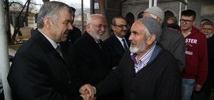 Başkan Çelik, Hacılar'da bir dizi ziyarette bulundu