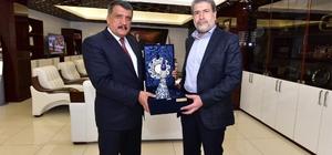 Milletvekillerinden Başkan Gürkan'a ziyaret