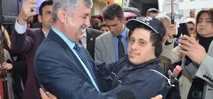 Malatya Otizm ve Görme Engelliler Spor Kulübü dernek binası hizmete girdi
