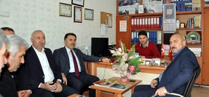 AK Parti Yozgat Milletvekili Ertuğrul Soysal'dan esnaf ziyareti