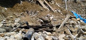 Tandırlık duvarı çöktü : 1 ölü