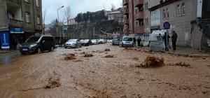 Bitlis'te sağanak etkili oldu