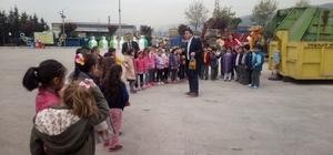 Öğrenciler, Körfez Belediyesi Atık Getirme Merkezini ziyaret etti