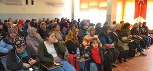 """Kozan'da Kadınlara """"Girişimde Önce Kadın Projesi"""" Eğitimi"""