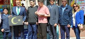 Edirne'de otizm farkındalık sergisi açıldı