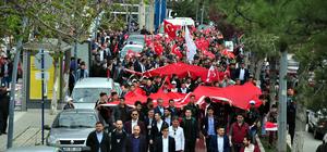 """""""Mesele Memleket Şampiyonluğa Evet"""" yürüyüşü"""