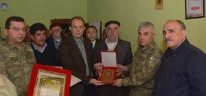 Vali Taşyapan ve Milletvekili Atalay'dan şehit ailelerine taziye ziyareti