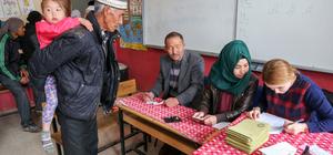 Van'daki Kırgız Türkleri sandık başında