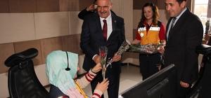 AK Parti'li Kayatürk'ten sağlık personeline ziyaret
